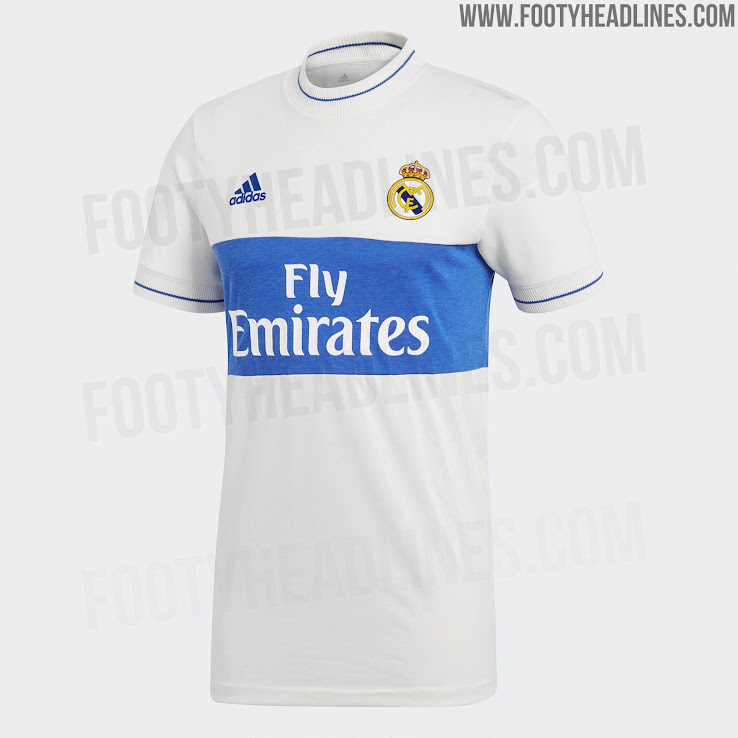 1552515e5 Insane Price  Adidas Real Madrid Icon Jersey Released - Footy ...