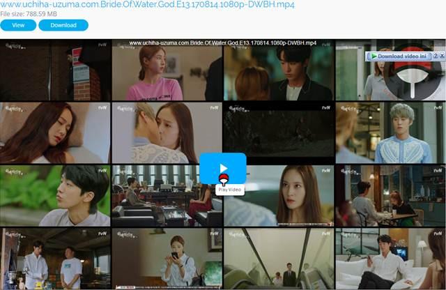 Screenshots Download Film Drama Korea Gratis Bride Of The Water God, The Bride of Habaek, 하백의 신부 (2017) Episode 13 DWBH NEXT MP4 Free
