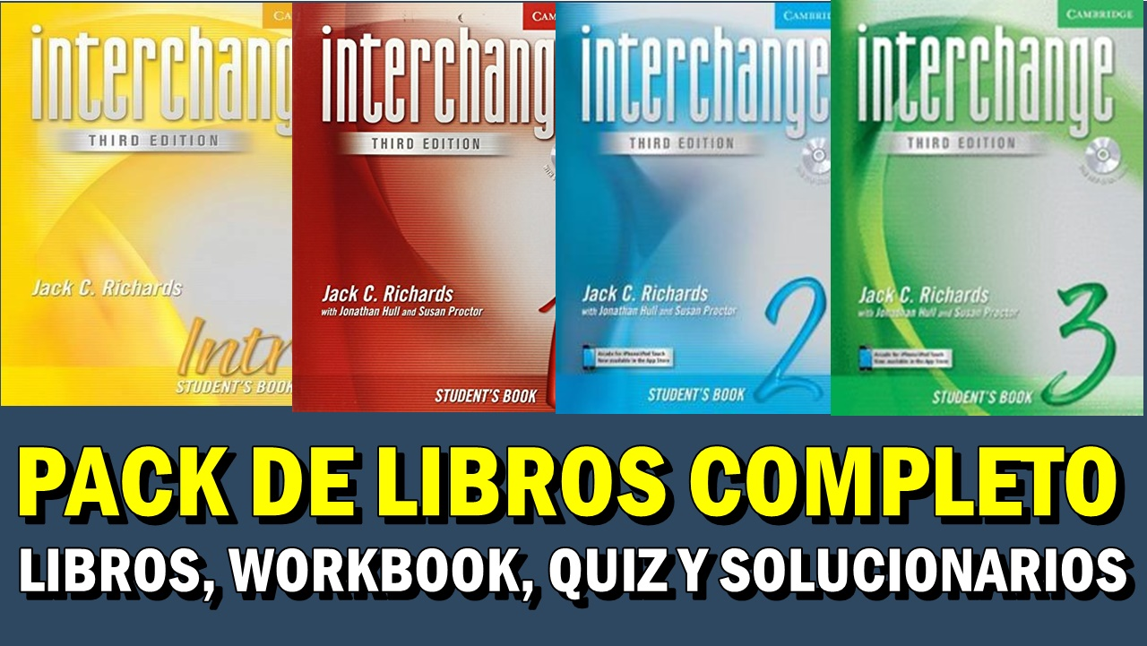 Descarga Libros De Inglés INTERCHANGE