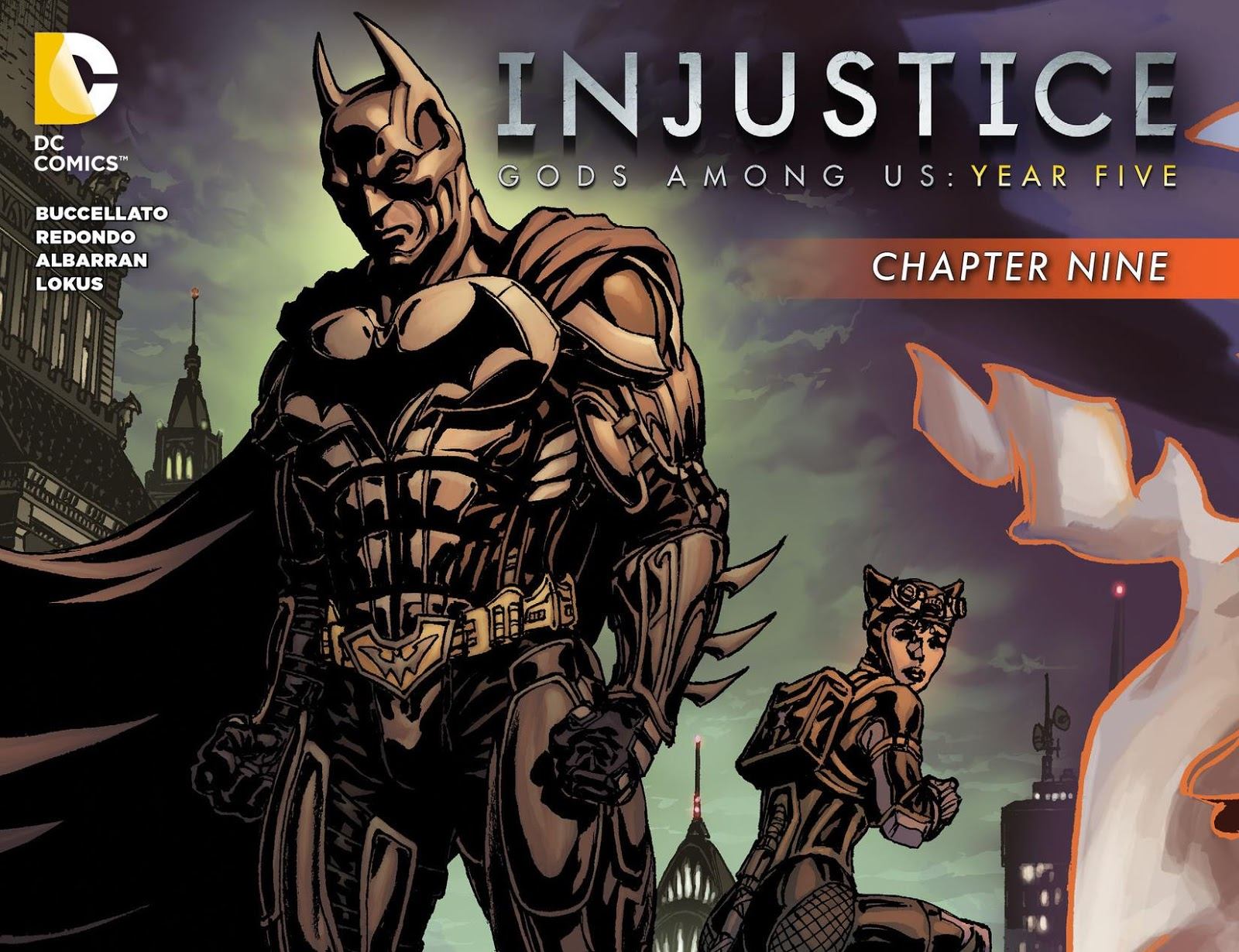 Weird Science DC Comics Injustice Gods Among Us Year Five - Injustice god among us buttom map