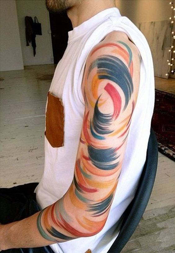 Best 26+ Abstract Tattoos Designs