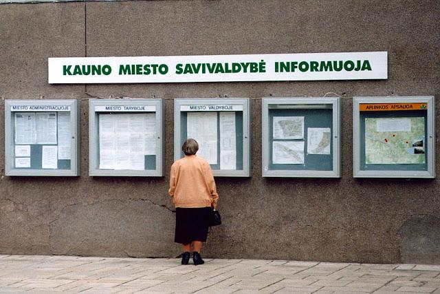 Kaunas City Municipality Informations, Laisvės Alėja, Kaunas, Lithuania