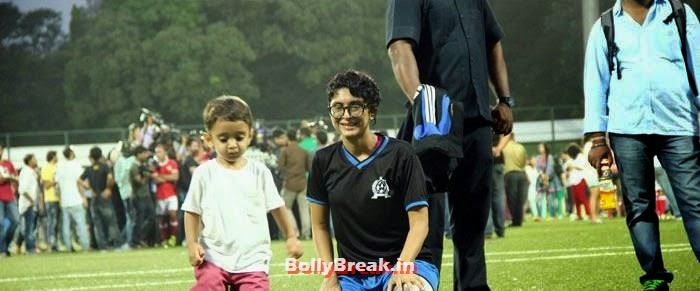 Azad Rao Khan, Kiran Rao, Bollywood Celebs play football match for Aamir khan's daughter Ira Khan