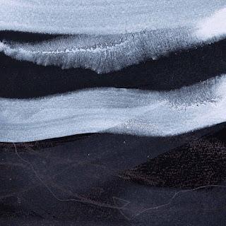 20 x 20 cm acrylique crayon et graphite sur papier Arches noir, 24 jan 15