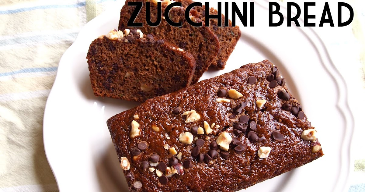 pretty kitten's kitchen: Chocolate Hazelnut Zucchini Bread