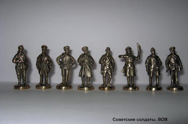 солдатики Юника вторая мировая война советские войска