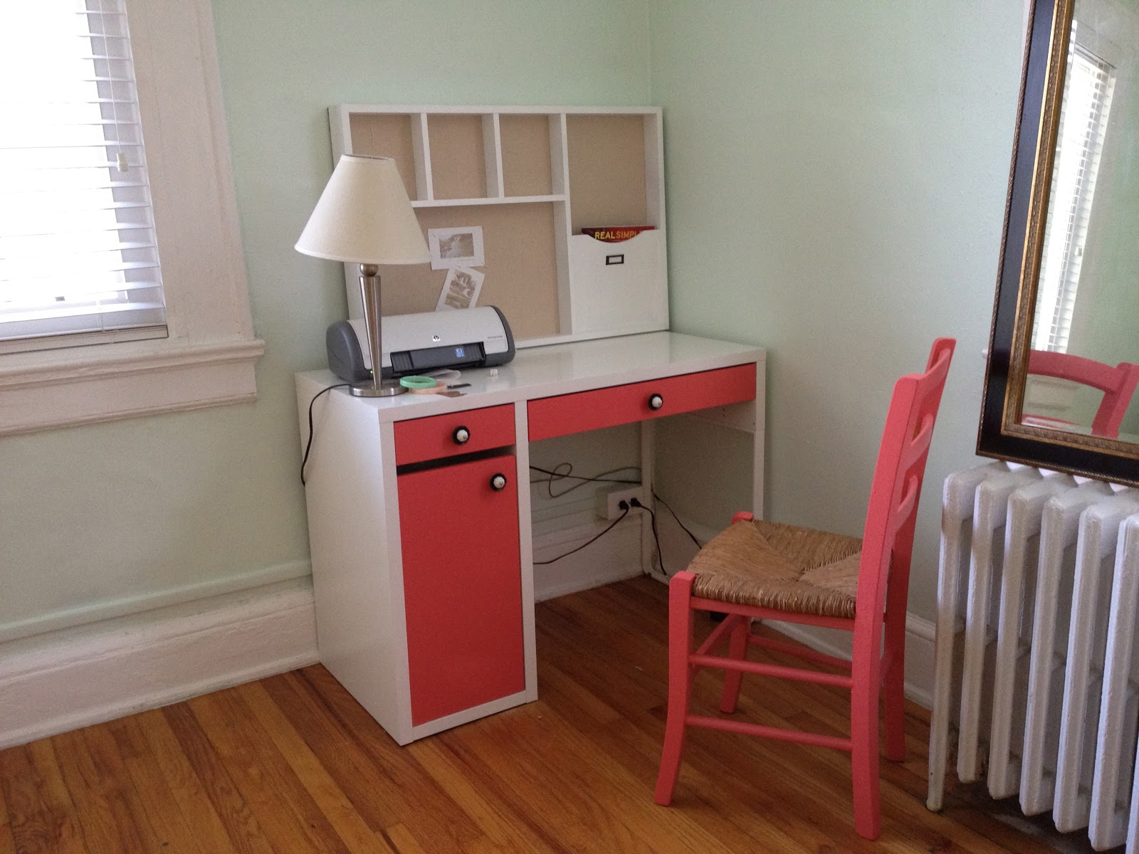 650 square feet ikea micke desk revamp. Black Bedroom Furniture Sets. Home Design Ideas