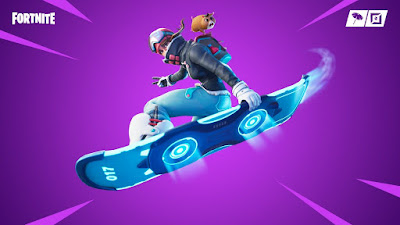 Fortnite 7.40 Update Adds Dirftboard Limited Time item and Driftin Limited Time mode