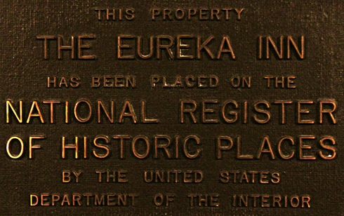 Eureka Inn Historic Site