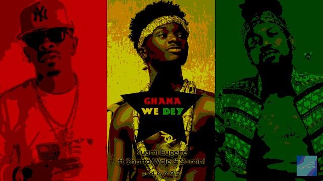 Download new Audio by Kuami Eugene ft Shatta Wale & Samini - Ghana We Dey