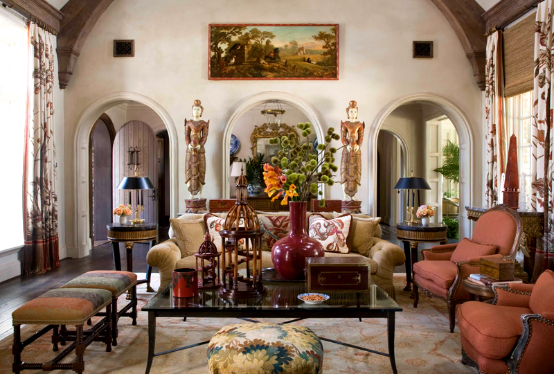 The Nice Living Room Ideas: French Provincial Living Room ...