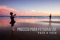Proceso para fotografiar (paso a paso)