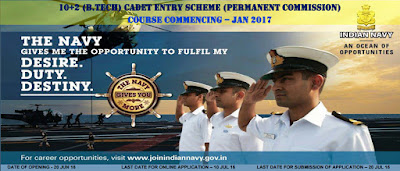 Indian Navy Permanent Commissioned Officer Recruitment