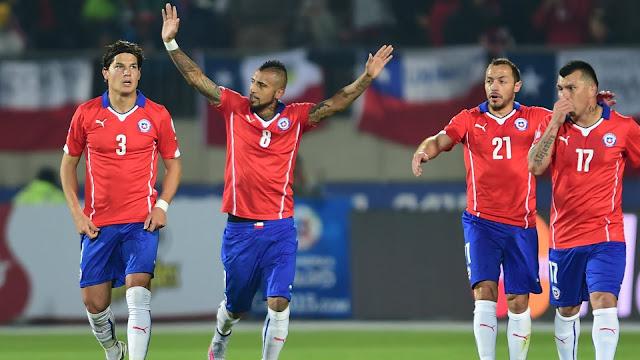 Chile berhasil menyegel satu pos tersisa perempat final Copa America 2016
