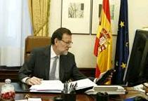 "Rajoy asked ""all businesses that work or have worked in Catalonia not to go"""