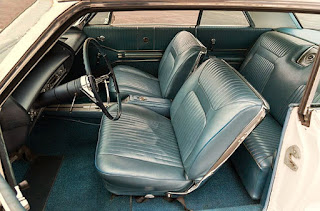 1964 Chevrolet Impala SS Seat Front