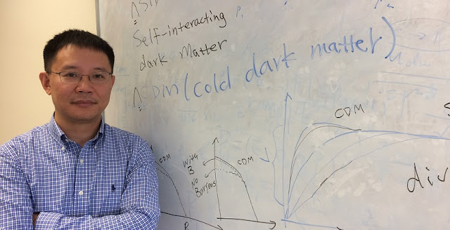 Hai-Bo Yu is an assistant professor of theoretical particle physics and astrophysics at UC Riverside.Photo credit: I. Pittalwala, UC Riverside.