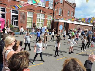 wimborne junior school summer fair