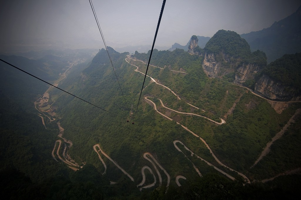 Tianmen Mountain Road – Hunan |  China