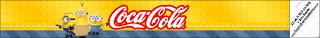 Etiquetas de  Película de los Minions para personalizar botellas