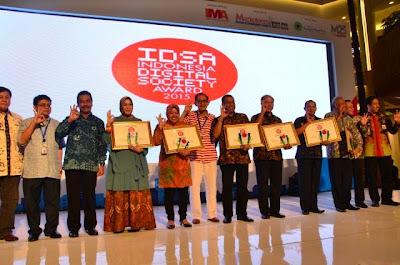 Indonesia Digital Society Award, Banda Aceh Kembali Raih Juara