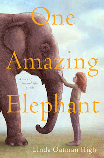 a story about a girl and and elephant finding their way through grief together