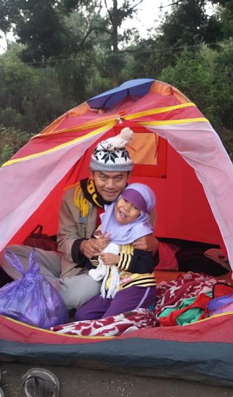 tenda di gunung ijen