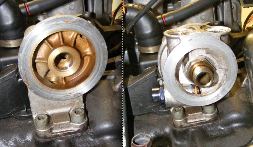 VW MKII Golf GL project: Installing an External Oil Cooler