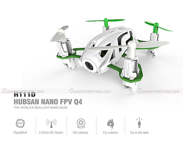 Hubsan Nano Q4 H111D FPV Quadcopter