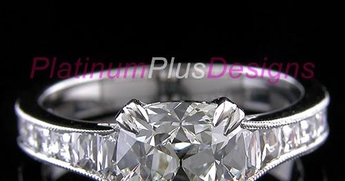 25334f7d598a6 Platinum Engagement Rings | Platinum Plus Designs, custom designed ...