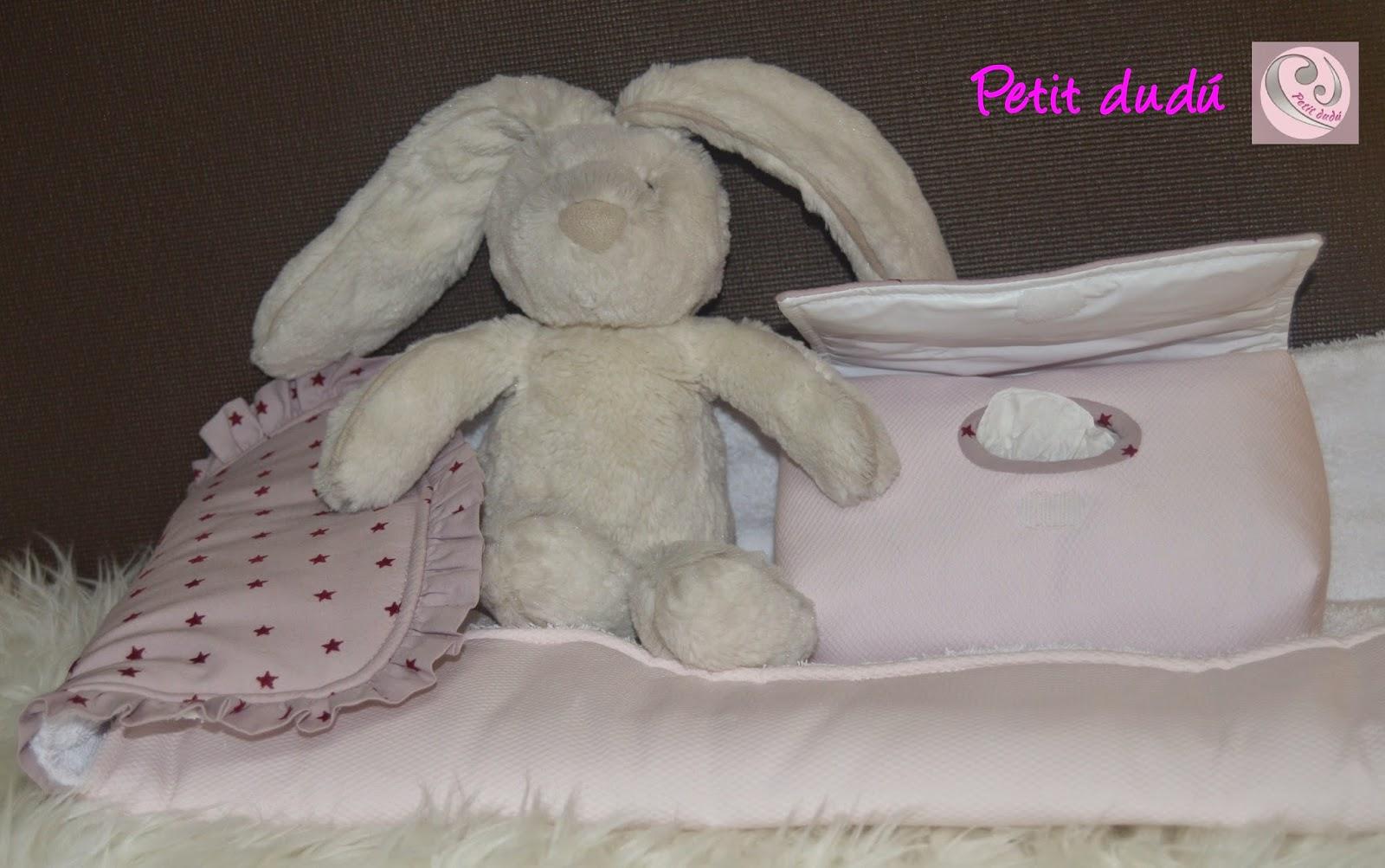 Conjunto de Cambiador y toalla Petitdudu