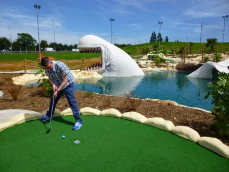 Moby Adventure Golf in Chadwell Heath, Romford, London