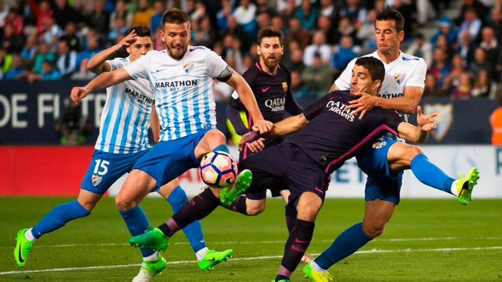 Barcelona vs Málaga EN VIVO por LaLiga