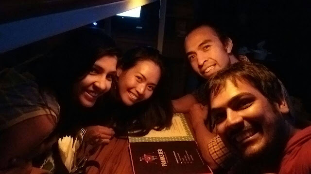 Hitomi & George with Atishay & Astha