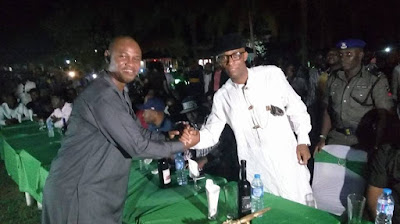 Thrills as Akwa Ibom Speaker, Celebrates 39th Birthday With The Masses.