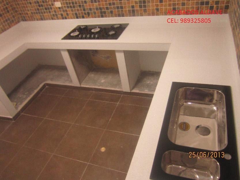 Enchapes de mayolica porcelanato mesas de marmoil - Encimeras de marmol para cocinas ...