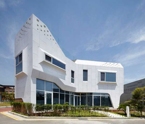 New Home Designs Latest Modern Homes Ultra Modern: New Home Designs Latest.: South Korea Modern Homes Designs