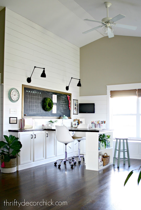 multi-functional craft room