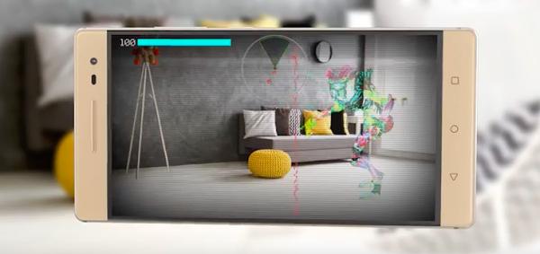 用手機玩AR!聯想推出市面上首款搭載Google Tango技術手機Phab 2 Plus