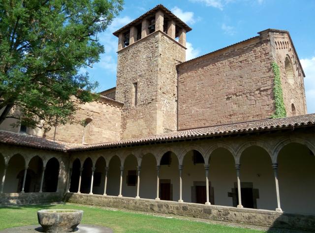 Una altra etapa de visita guiada a Sant Joan de les Abadesses