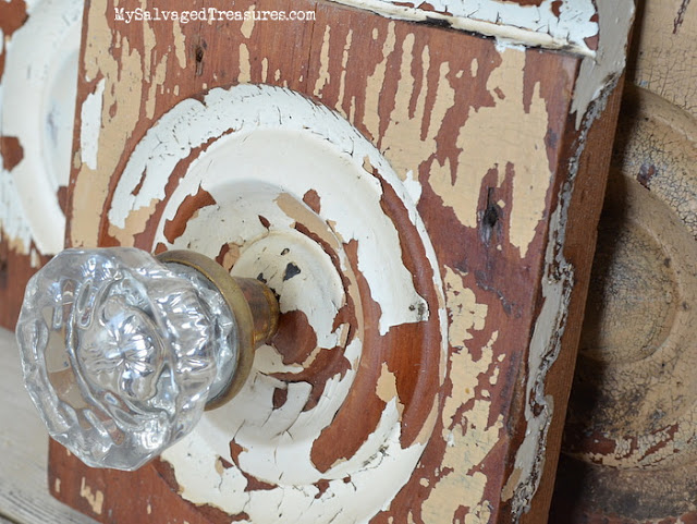 Repurposed vintage doorknob architectural salvage upcycle