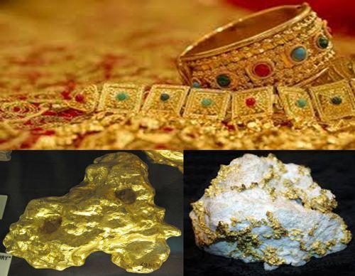 penghasil emas di indonesia