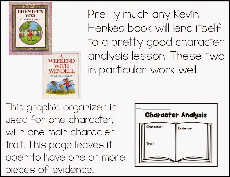 Sarahu0027s First Grade Snippets Teaching Character Analysis in the - character analysis