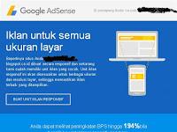 Anjuran Untuk Membuat Unit Iklan Baru Untuk Menyesuaikan Dengan Situs Web Responsif