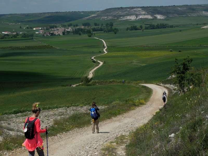 Hornillos del Camino, Messta, Camino, Jola Stępień