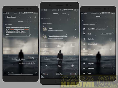Theme Pack MIUI 超凉爽水滴特效 Droplets Water Cool Effects Mtz