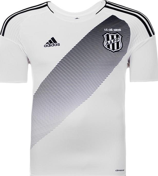 63d47250e3cda Adidas divulga nova camisa titular da Ponte Preta - Show de Camisas