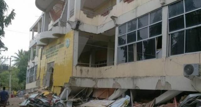 84 Sarana Belajar di Pidie Jaya Rusak Akibat Gempa