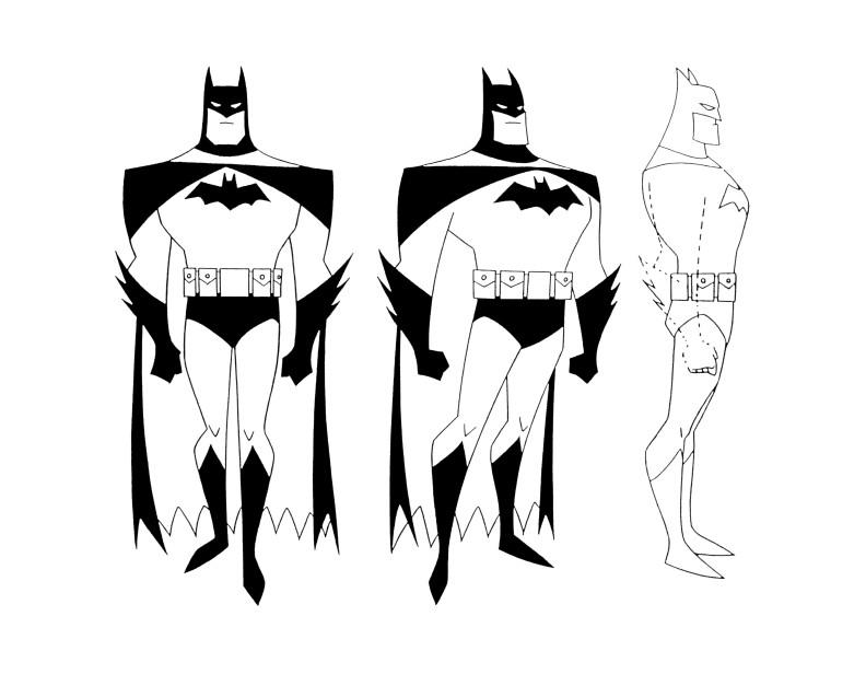 2D Animation: Batman Boards