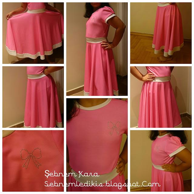 kız çocuk elbise modeli
